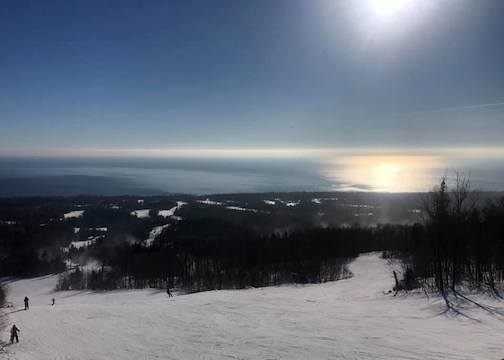 View from the top of Lutsen Mountains by Molly Cat.