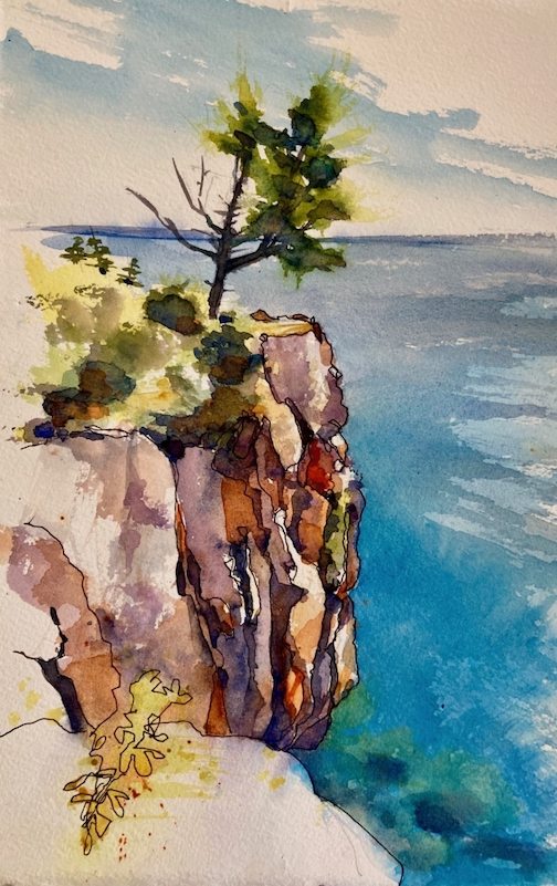 Plein air artist Tara Sweeney will teach a virtual class, Armchair Plein Air, one March 4-25. To find out more and register click here.