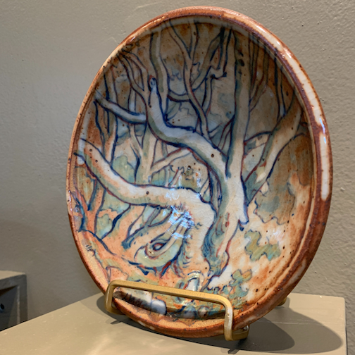 Potter Dave Lynas is one of the artists exhibiting work at the Duluth Art Institute.
