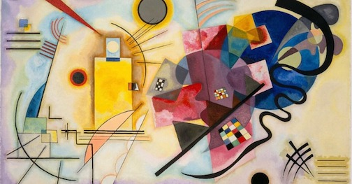 """The Kandinsky Project lets you hear the Kansinsky masterpiece, """"Yellow, Red, Blue."""""""