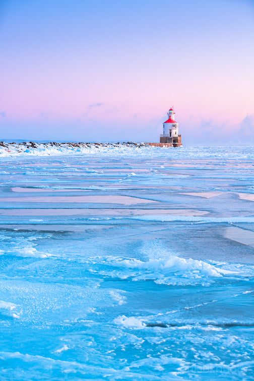 Superior (Wis.) lighthouse by Nathan Klok.