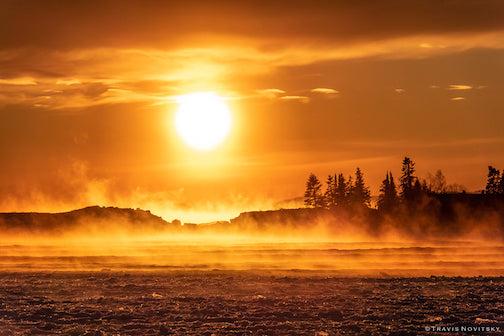 Sunset in Grand Marais by Travis Novitsky.
