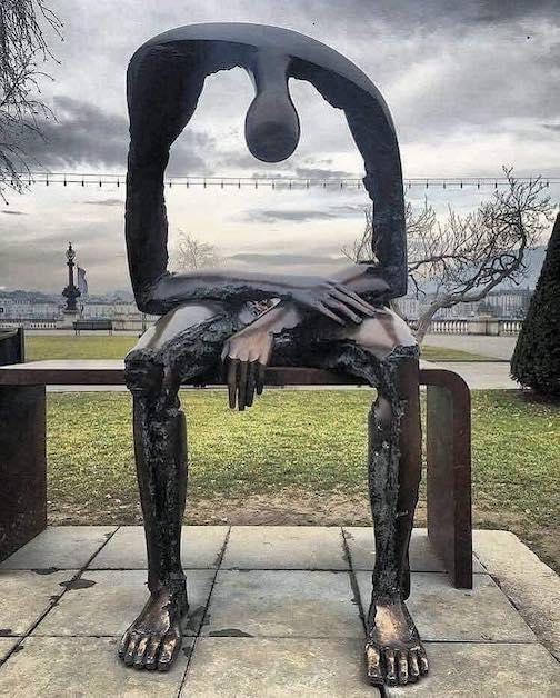 Albert Gyorgy Romanian artist Melancholy