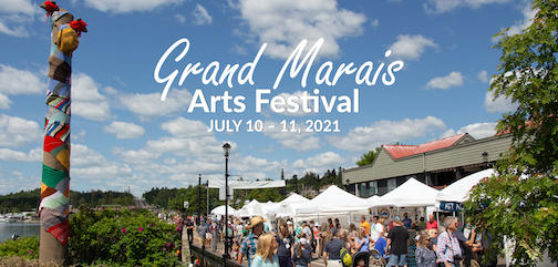 Applications for the Grand Marais Arts Festival are open through April 12. To apply, click here.