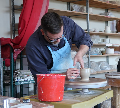 North Carolina potter, Kyle Carpenter, is the Grand Marais Art Colony's Instagram Takeover Artist this week.
