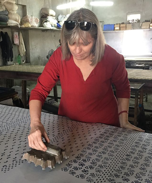 Printmaker Anita Jung is the Art Colony's Instagram Takeover artist on Thursday and Friday.