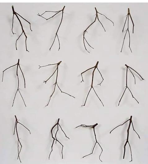 Dancing twigs by Kris Kenny.