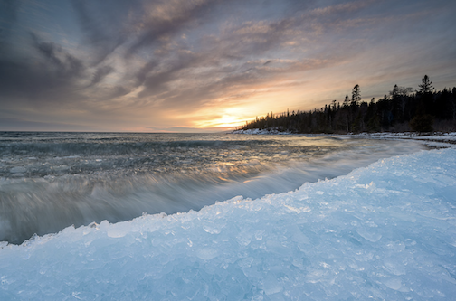Breaking ice on Superior by Bryan Hansel.