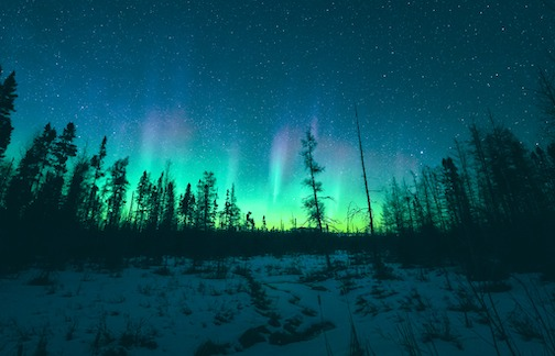 An unreal time chasing the Northern Lights by Cody Larson.