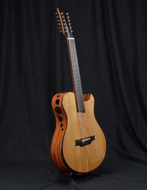 Gunflint Trail luthier, Dave Seaton, recently completed this beauty.