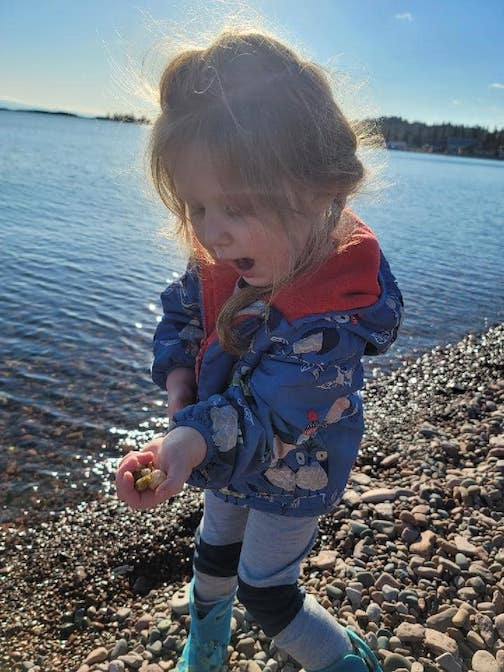 She loves rocks... all of them by Kelsey Kennedy.