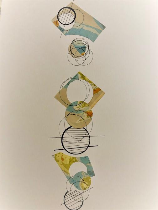 Rearranging Boundaries III by Ruth Pzwaro.