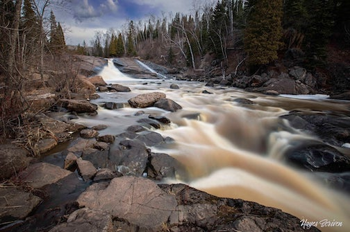 Waterfalls Wednesday, Beaver River edition by Hayes Scriven.