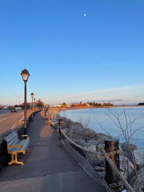 Grand Marais Harbor walk by David Welch.