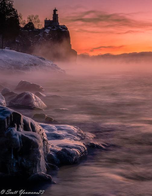 Winter sunrise by Scott Youmans.
