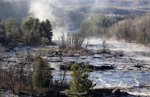 Early this morning in Jay Cooke State Park by Tim Mlodozyniec.