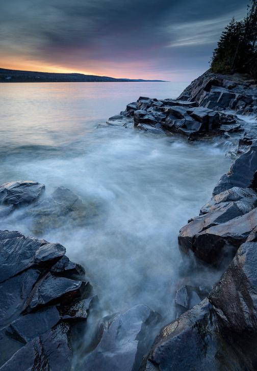 Lake Superior Sunrise by Bryan Hansel.