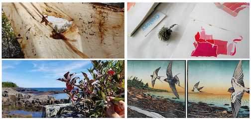 The Grand Marais Art Colony's summer exhibit, But It Was Still There, features work by four artists in a variety of mediums.