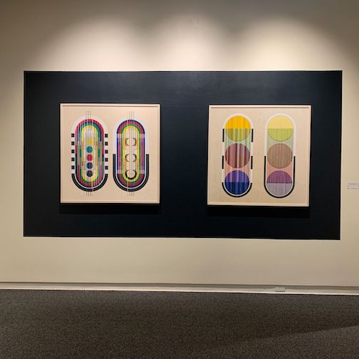 One of the pieces by Tia Keobounphen noon exhibit at the Duluth Art Institute.