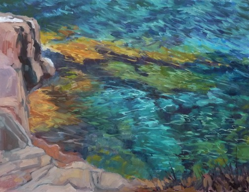 Beacon Cliff by Paula Gustafson.