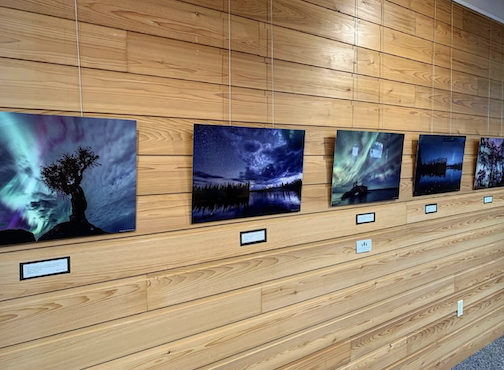 Travis Novitsky is exhibiting his photographs at Split Rock Lighthouse this month,.