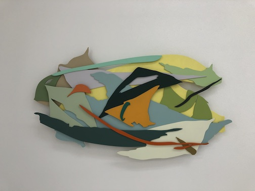 Shapes, No. 10 by Annie Hejny is one of the pieces on exhibit at Studio 21 this summer.
