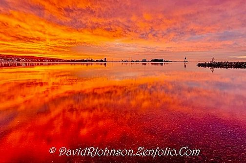 Sunrises you just stare at by David Johnson.
