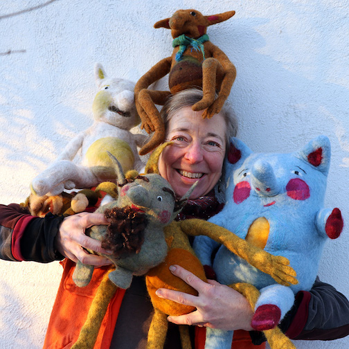 """Elise Kyllo will present her work in an exhibit at North House Folk School entitled """"Fully Felted Finale."""" The opening reception is from 5-7 p.m. Tuesday, July 27. All invited."""