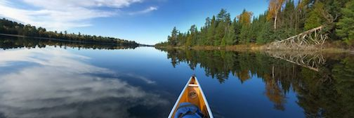 The Boundary Waters. Photograph courtesy of Hungry Jack Outfitters.