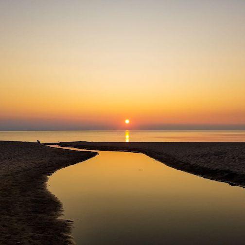 Agate Beach by Luke Johnson.