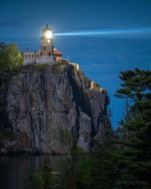 Nathan Klok will be exhibiting his photographs at Split Rock Lighthouse through the month of August.