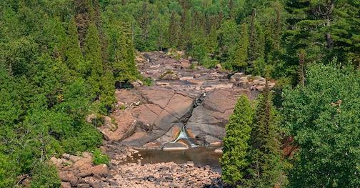 A drought reality. The Beaver River this week by Paul Sundberg.