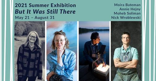 This is the last weekend to see the Art Colony's summer exhibition, But It Was Still There at Studio 21.