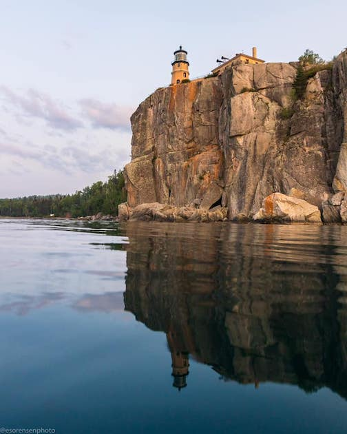 A very calm Lake Superior by Ethan Sorenson.