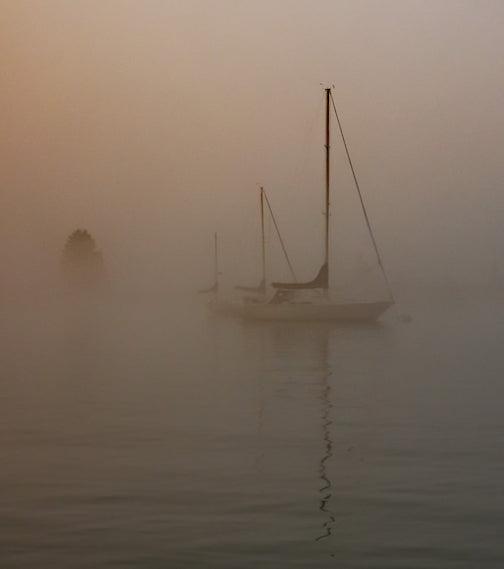 Grand Marais Harbor, Aug. 20 byMark Tessier.