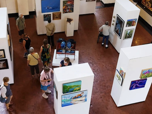 The opening reception for the Duluth Art Institute's Member Show will be held Tuesday, Sept. 21.