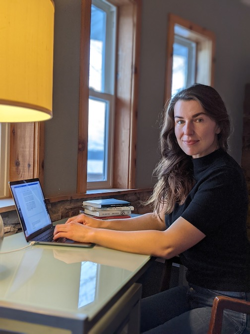 Writer Kathryn Savage is the Grand Marais Art Colony's Instagram Takeover Artist on Thursday and Friday.
