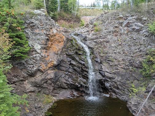 Sweet little waterfall. Fall River. By Ilena Berg.