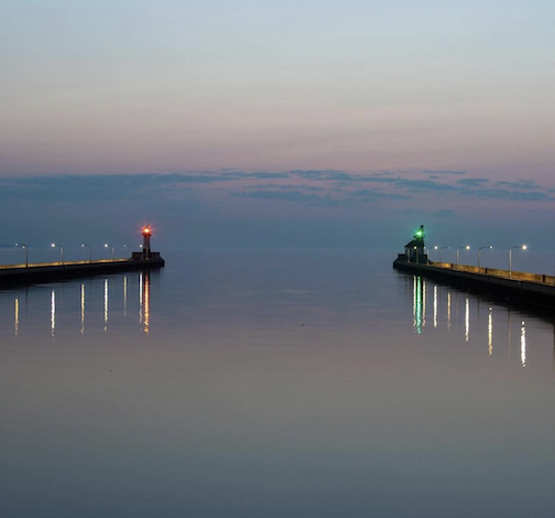 Morning serenity by Panto Grafata.