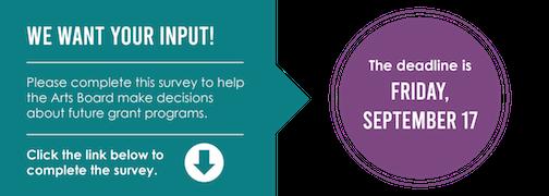 Take the Minnesota State Arts Board survey here.
