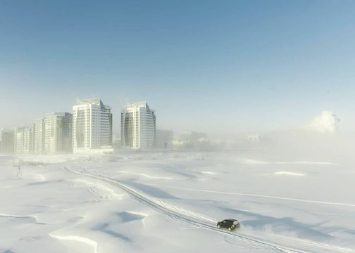 Photographer Alexey Vasilyev captures the lives of people In Yakutia, where it gets as cold as -58F. To see his photographs, click here.