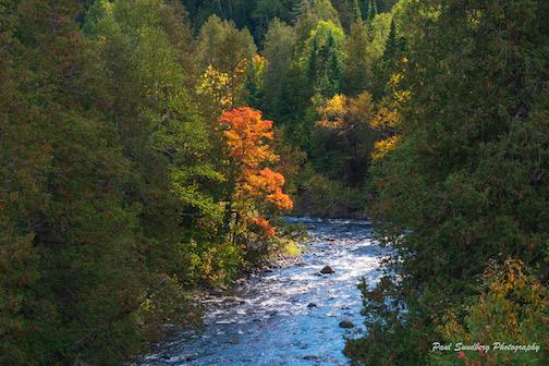 Cascade River by Paul Sundberg.