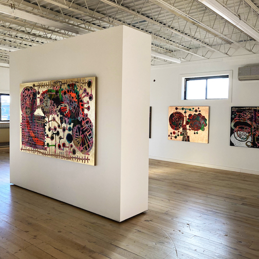 """Andy Ness is exhibiting a series of works entitled """"Untitled"""" at Studio 21."""