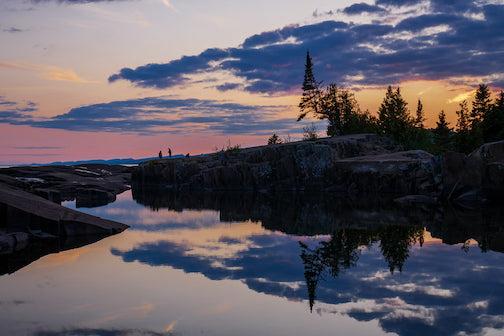 Artist's Point at dusk by Mark Tessier.
