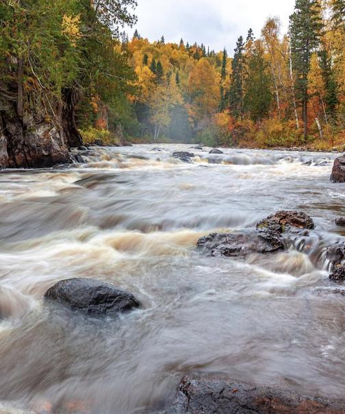 The Minnesota Bruce River by Patrick Forslund.