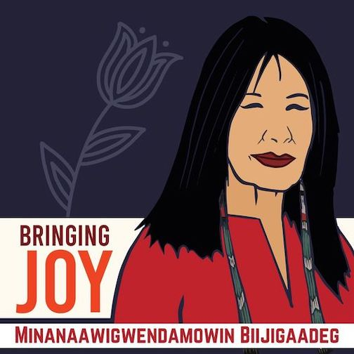 """A virtual celebration will be held on Tuesday, Oct. 21, to celebrate the release of """"Bringing Joy, an anthology of writing and art inspired by the work of Poet Laureate Joy Harjo."""