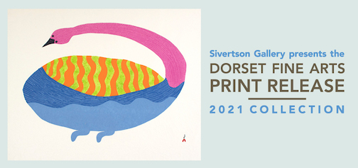 The Dorset Fine Arts Print Release collection is on view at Sivertson Gallery in Grand Marais.