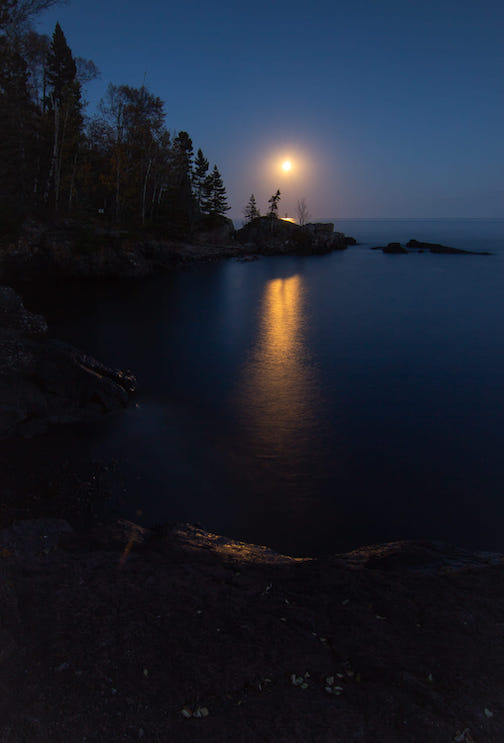October Full Moon by Thomas Spence.